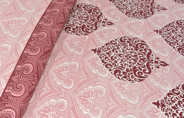 Alexa Paisley King Size Double Bedsheet Close up