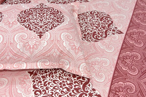 Alexa Paisley King Size Double Bedsheet Closeup