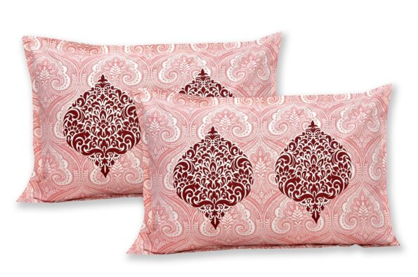 Alexa Paisley King Size Double Bedsheet Pillow Cover Set