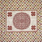 Barmeri Print Beautiful Design Double Bed Sheet Closeup