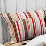 Hawaii Twill Soft Grey Checks Deisgn Super Fine Cotton Double Bed Sheet Pillow