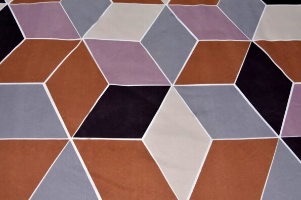 Seamless Softness Poly Cotton Double Bedsheet Closeup