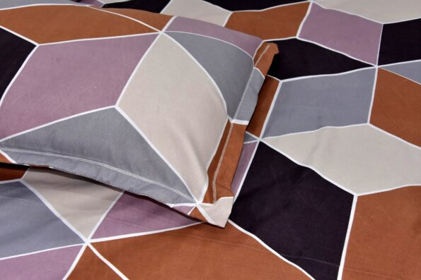 Seamless Softness Poly Cotton Double Bedsheet Lookout