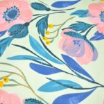 Soft Floral Poly Cotton Double Bedsheet Lookout