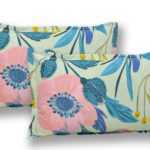 Soft Floral Poly Cotton Double Bedsheet Pillow Cover Set