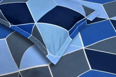 Super Sober Poly Cotton Double Bedsheet Closeup