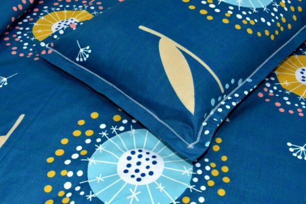Super Soft Premium Poly Cotton Double Bedsheet Close up