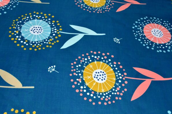 Super Soft Premium Poly Cotton Double Bedsheet Closeup