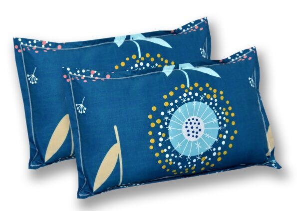 Super Soft Premium Poly Cotton Double Bedsheet Pillow Cover