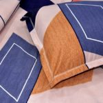 Tranquility Poly Cotton Double Bedsheet Closeup