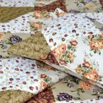 Twill Multicolor Floral Geometric Double Bedsheet Lookout
