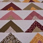 Rosee Triangle Shape Maroon Color Double Bed sheet