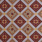 Traditional Sanganeri Print Multcolor King Size Pure Cotton Double Bedsheet Closeup