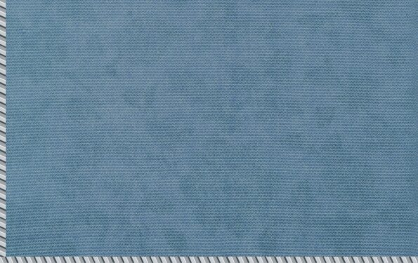 Pure Mulmul Cotton Blue Floral Pattern Reversible Single Bed Dohar Backside