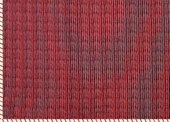 Pure Mulmul Cotton Maroon Ethnic Pattern Reversible Single Bed Dohar Backside
