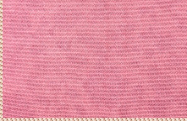 Pure Mulmul Cotton Pink Floral Pattern Reversible Single Bed Dohar Fullview backside