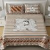 Beautifual Art Frame Border King Size Bedsheet