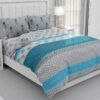 Hawaii Twill Soft Flowery King Size Bed Sheet