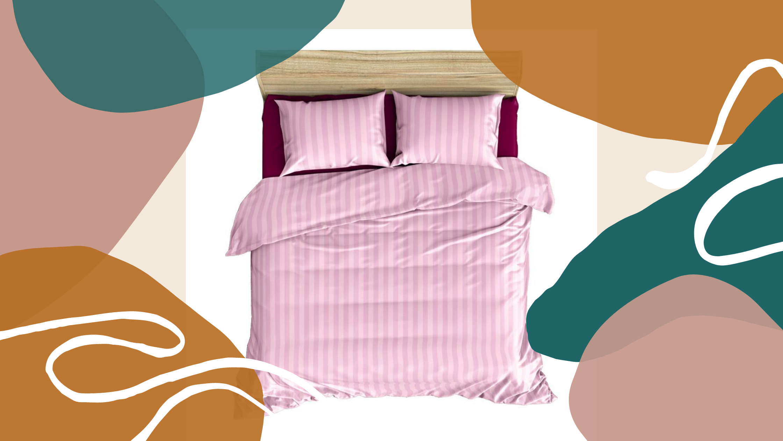 Decor Your Hotel with Satin Stripe Plain Bedsheet