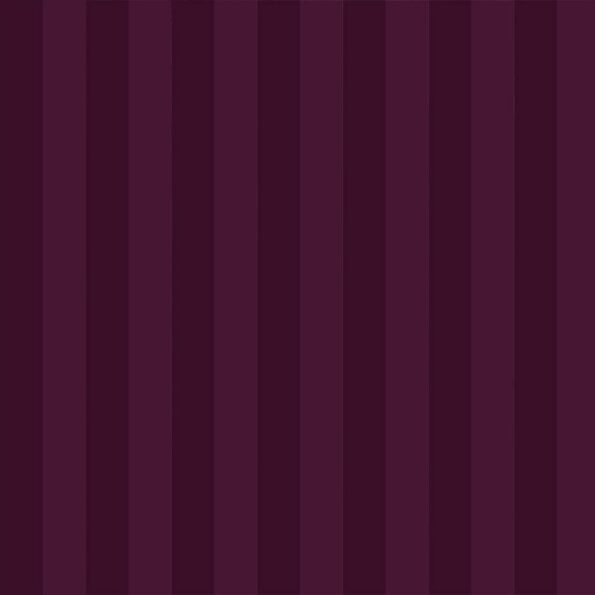 Solid Dark Purple Satin Stripe Pure Cotton King Size Bedsheet Close up