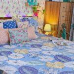 Sky Iveta Abolina Alocasia Print King Size Bedsheet