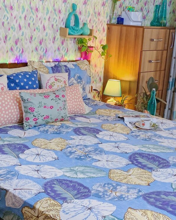 Indian Fabrico King Size Bedsheet