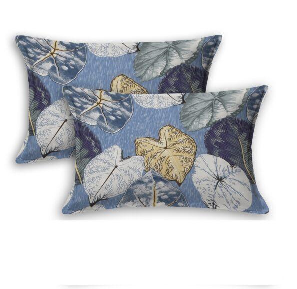 Sky Iveta Abolina Alocasia Print King Size Bedsheet Pillows