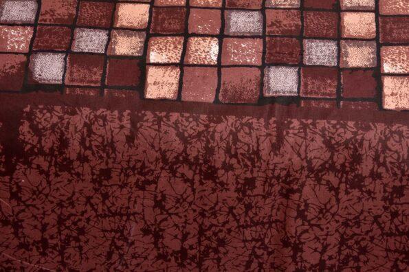 Procian Cotton Cherry Boxy Beauty Double Bedsheets Sideview
