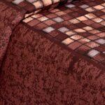 Procian Cotton Cherry Boxy Beauty Double Bedsheets
