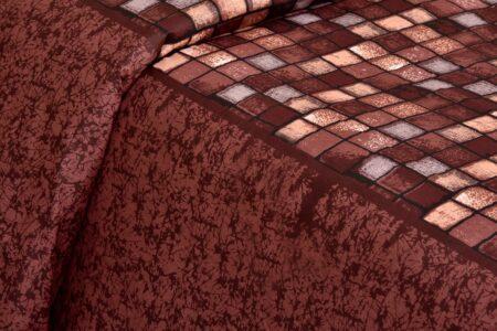 Procian Cotton Cherry Boxy Beauty Double Bedsheets view