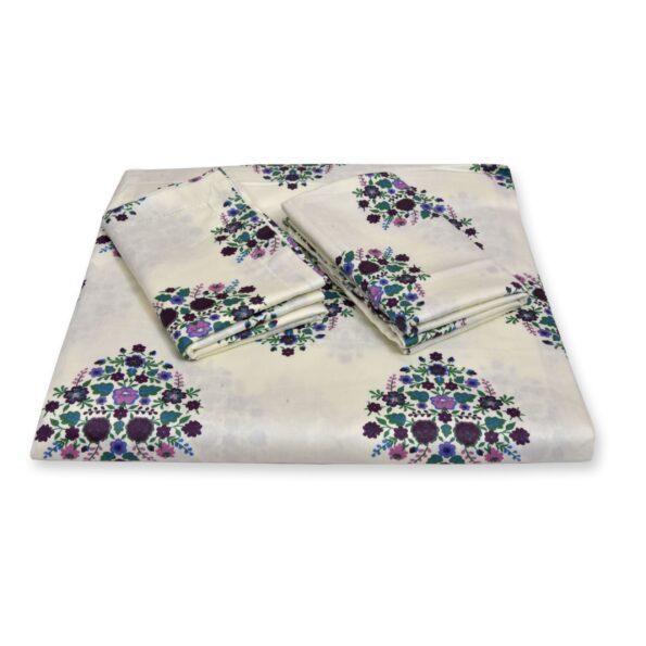 Beautiful Bouquet King Size Bedsheets