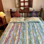 Deep Aquatic Sky Blue King Size Bedsheets