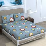 Lion King Kids Supersoft Double Bedsheet with 2 Pillow Covers
