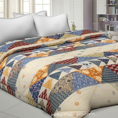 Barmeri Pastel Pure Cotton Double Bed Dohar (Comforter)