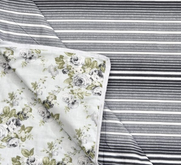 Indian Fabrico Flowers Bunch Pure Cotton Reversible Bed Dohar View