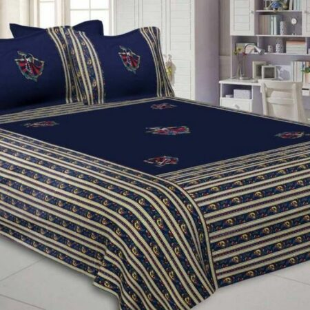 Cotton Embroidery Bedsheets