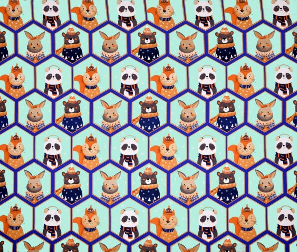 Panda Picachoo Supersoft Double Bedsheet Fullview