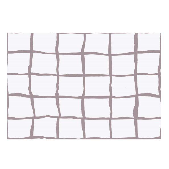 White Square Satin Cotton King Size Bedsheet Closeup