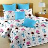 Fitted Sheet - Kids Colorful Robotics King Size Fitted Bedsheet